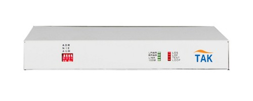 Unframed E1 to optical Ethernet converter