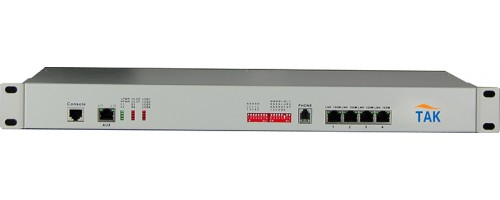 4E1+4* Ethernet PDH multiplexer with 1+1 fiber redundancy